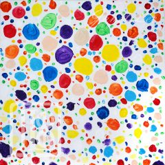 Janet Lee - Painting - Polka Dots